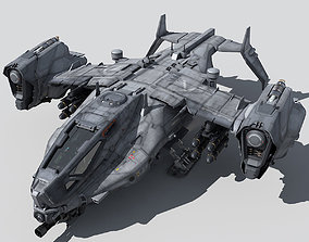 3D SF Heavy Military Dropship