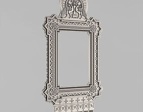 3D print model Frame for the mirror - Russian style