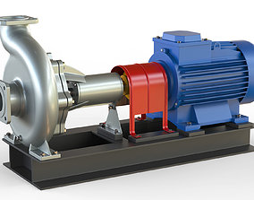 Pump centrifugal NK2 3D
