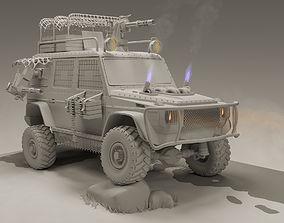 Military 4X4 3D model