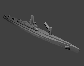 3D printable model Japanese I-400 Class Submarine