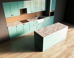 10-Kitchen10 glossy 1 3D model