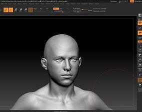 male human pack 3D asset VR / AR ready