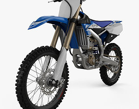 Yamaha YZ250F 2017 3D
