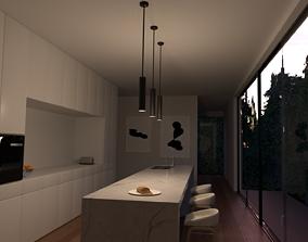 Kitchen Project Files 3D model kitchen