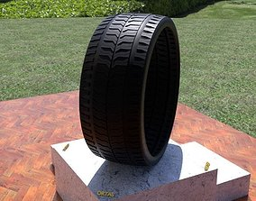 tyre ORTAS TIRE NO 34 GAME READY AND 3D PRINTABLE