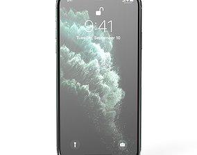 Apple IPhone 11 Pro - Green 3D model