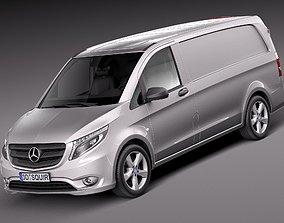 Mercedes-Benz Vito Panel Van 2016 3D model
