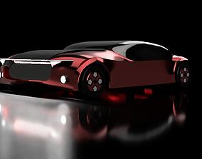 SedanCar 3D print model