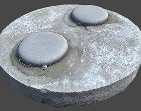 Sewer 3D asset