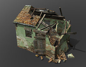 Old hut 3D model