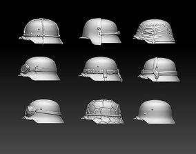 3D printable model helmets