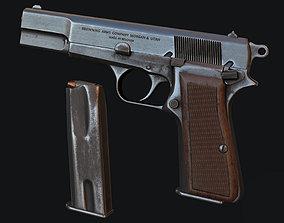 3D asset Browning HP