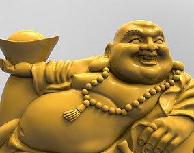 3D printable model Hotei Incumbent God of fun in Japanese