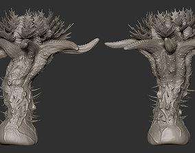 3D Alien Plant 01 Highpoly Model