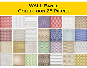 3D WALL Panel Collection 28 Pieces