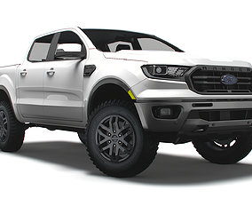 3D model Ford Ranger Lariat US 2021