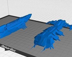Eve Online - Caldari Destroyers 3D print model