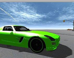3D asset Mercedes Benz AMG Electric Drive