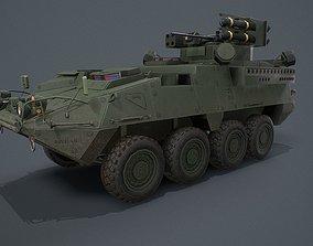 Stryker A1 IM-SHORAD 3D model