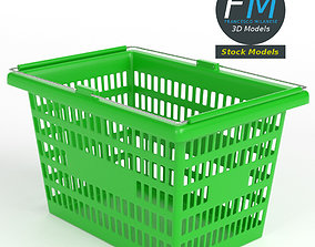 Shopping basket 1 3D