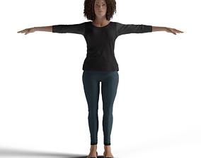 Female Character miss 3D model