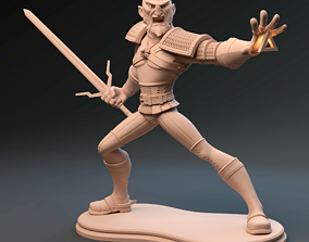 3D printable model Geralt of Rivia The Witcher