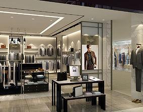 3D model Mens Clothing Store