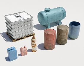3D model Collection - Liquid tanks