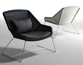 3D model Breeze Lounge Chair