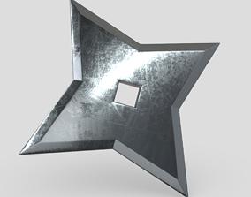 3D model Shuriken 5