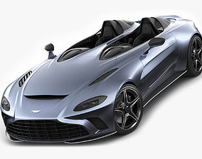 Aston Martin V12 Speedster 2021 uk 3D model