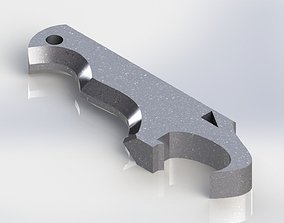 3D print model Eagle bottle opener