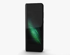 Samsung Galaxy Fold Cosmos Black 3D