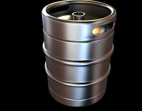 Bar Cask For Beer 3D model