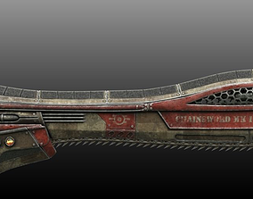 3D model Sci-Fi Chain Sword
