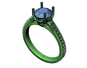Engagement ring -269 3D print model