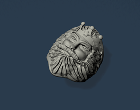 halka 3D printable model man ring