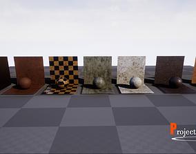 UE4-MaterialsPack-V002 3D