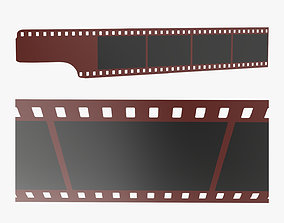 3D model Photographic film mockup 03