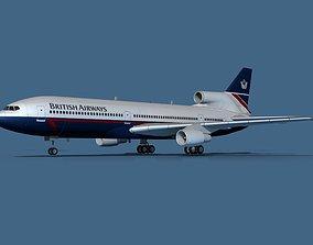 3D model Lockheed L-1011-50 British Airways 1