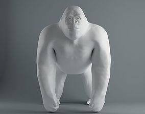 Gorilla gorilla 3D printable model