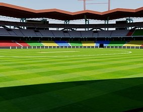 3D asset Jawaharlal Nehru Stadium - Kochi