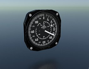 AIR SPEED INDICATOR 3D model