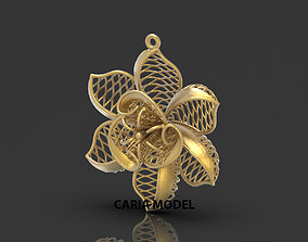 Ultra Fusion Pendant STL 3d model for 3d printing 091