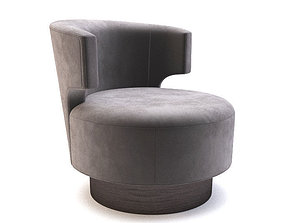3D model Holly Hunt - Mesa OCCASIONAL CHAIR