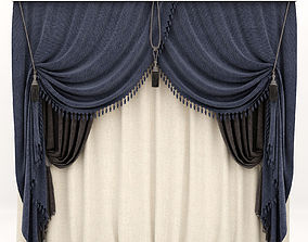 Curtains classic vray 3D