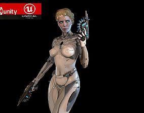 Cyborg assasin 3D model