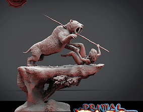 Primal Rage indian 3D printable model