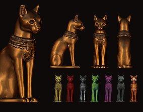 3D printable model Egyptian ritual cat - Sekhmet Goddess 2